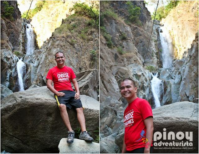 Waterfalls near Baguio City Hydro Falls Tuba Benguet