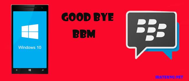 BBM Resmi Dihapus dari Windows Store