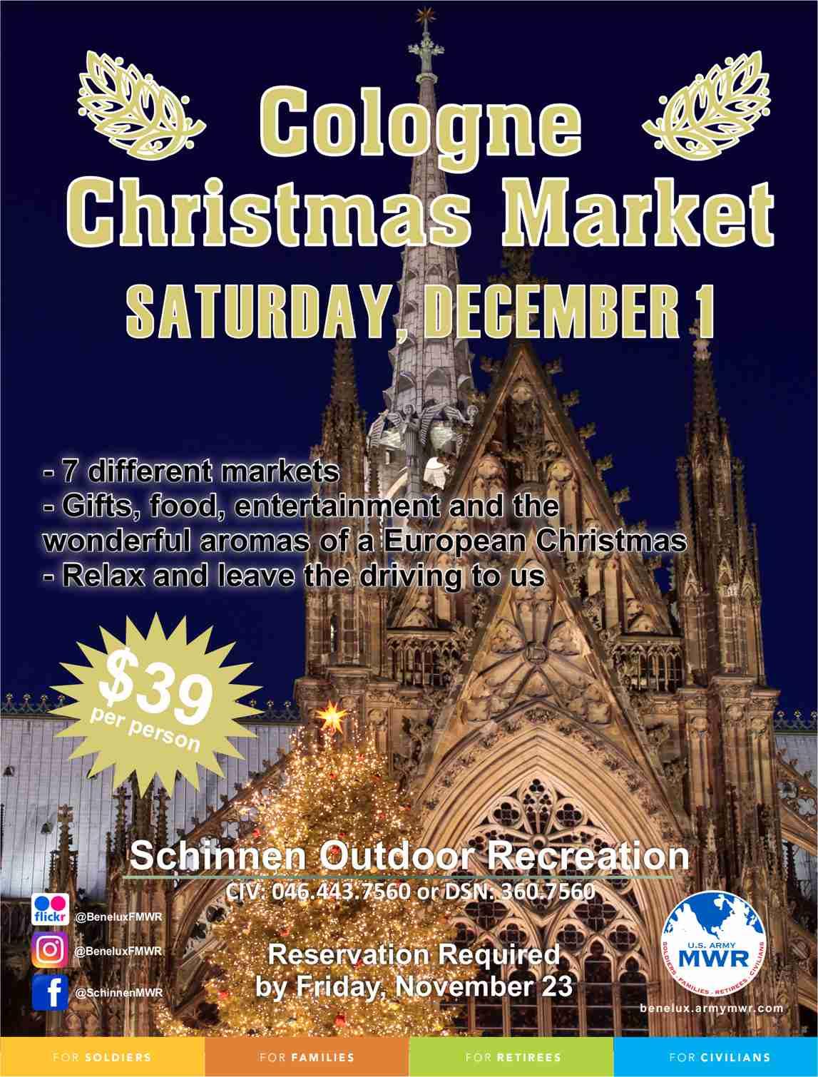 BRUNSSUM HIVE: Schinnen Recreational Trips - Cologne Christmas ...