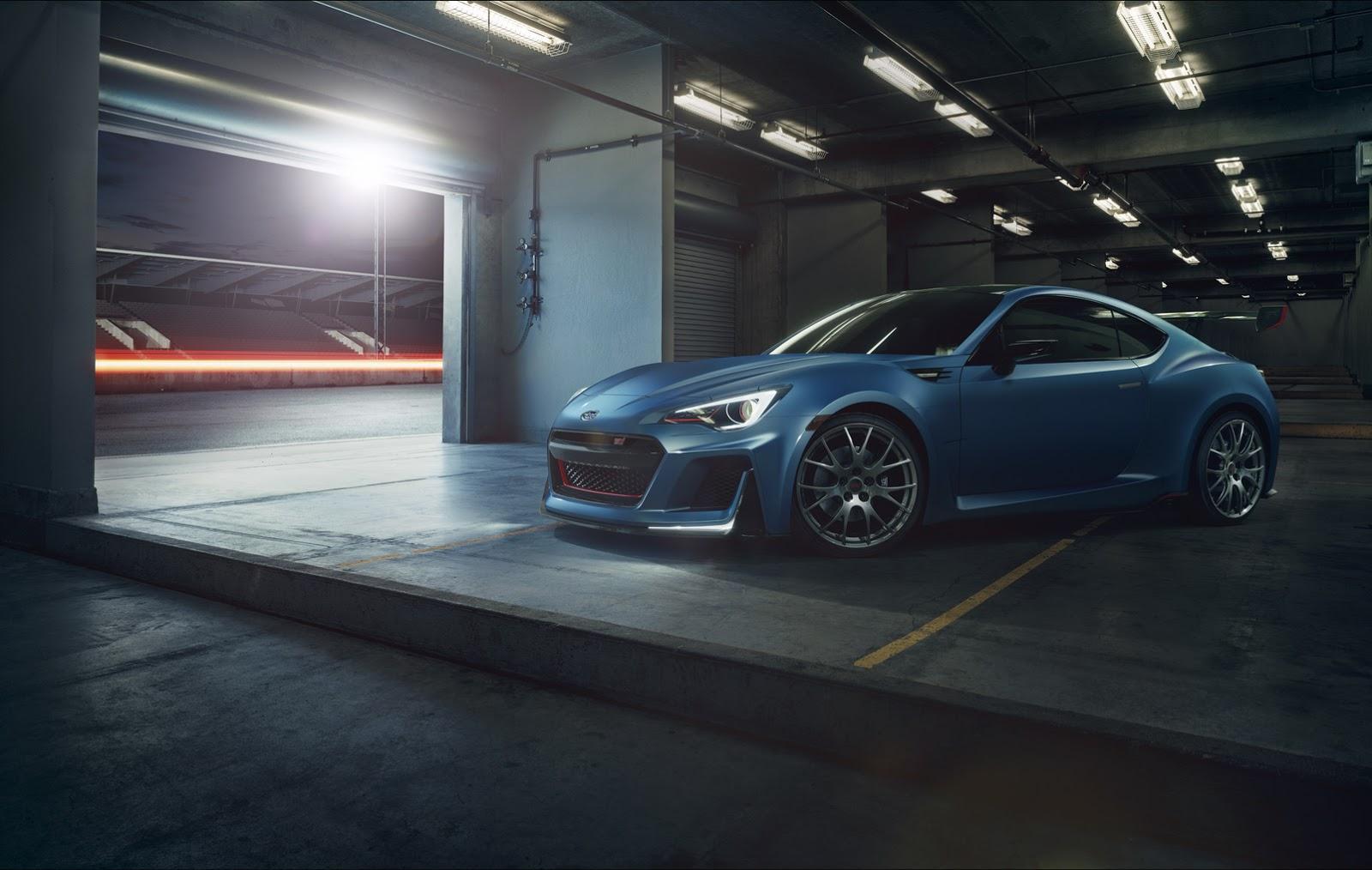 Subaru Makes Their BRZ STI Performance Concept Official
