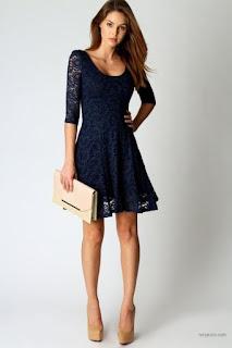 Lacivert Elbise Nasıl Kombinlenir Nasıl Basit