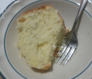 lemon poppyseed cake slice