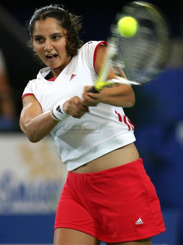 Hot Sports Stars Sexy Sania Mirza-6553