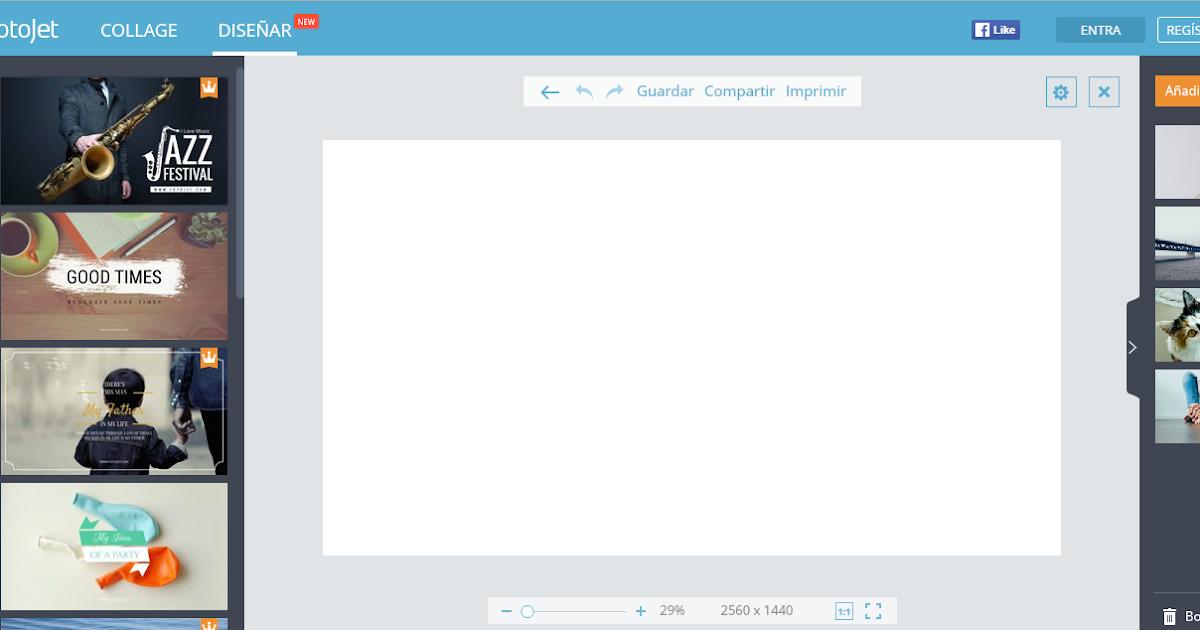 Blogueros Beta : Crear Cabecera Para Youtube con Fotojet