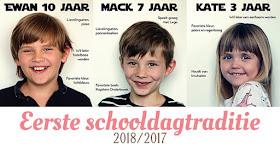 eerste schooldag traditie fb