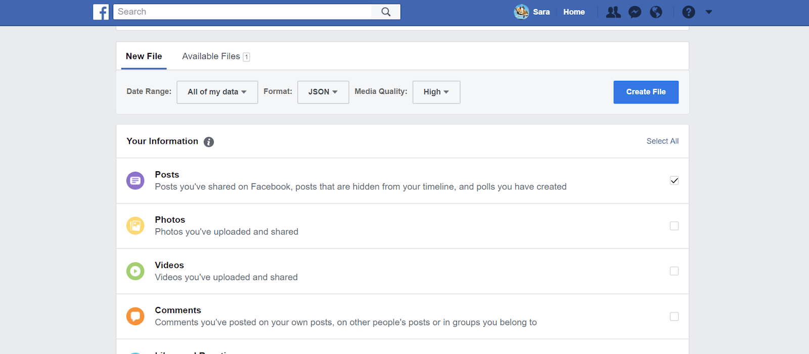 Working with Your Facebook Data in R