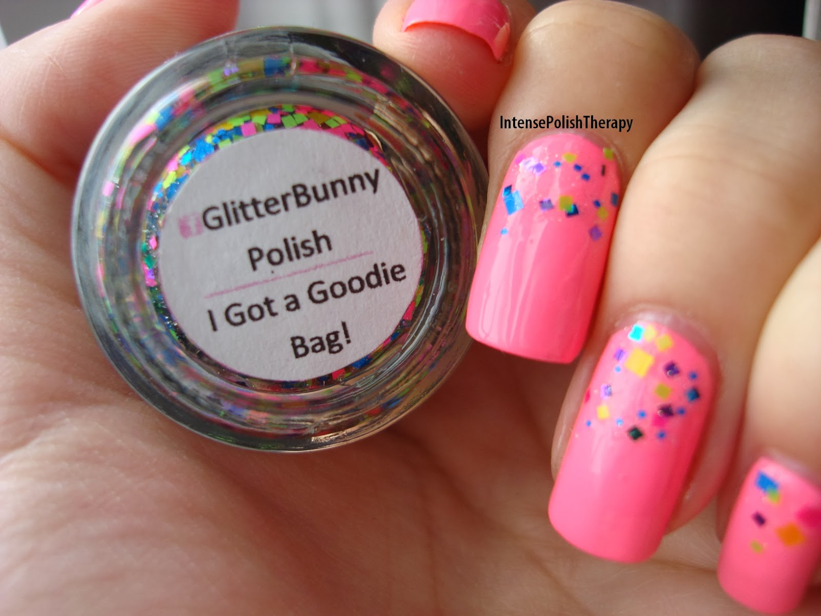 Ceramic Glaze - Tropical Guava & Glitter Bunny - I Got a Goodie Bag