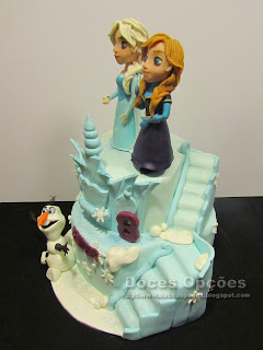 frozen cake disney