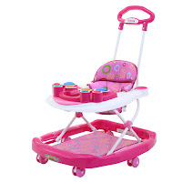 family fb781a drum baby walker