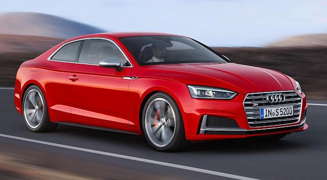 Audi A5 Second Generation