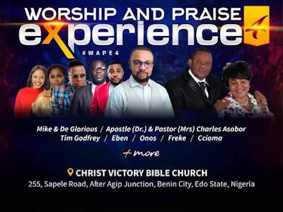 Michael Obasuyi hosts Worship & Praise Experience in Benin City