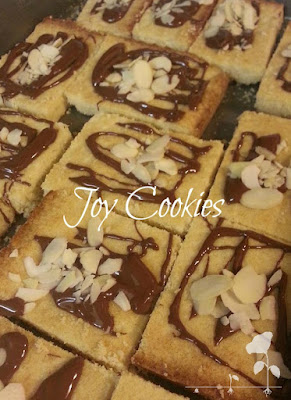 Joy Cookies - Almond, Chocolate YUM - #ConveyAwareness