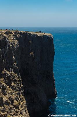 Las mejores playas del Algarve - Acantilados en Cabo de San Vicente