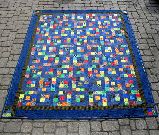 Royal Squares Quilt free Pattern