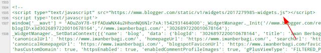 Mengatasi Balas Komentar Blogger Error, dan Tetap Menyembunyikan JS Blogger