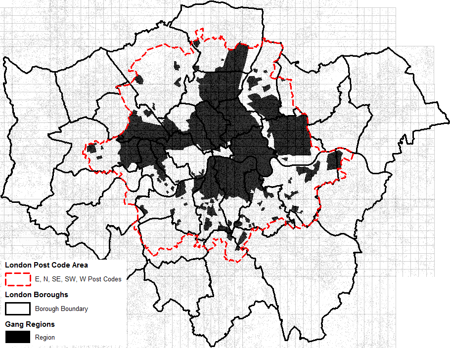 central london boundaries in dating