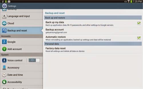 Seber Tech: How to Reset Samsung Galaxy Tab 3