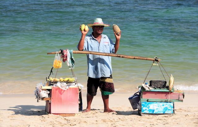 Lamai Beach, Strandverkäufer (C) Tourism Authority of Thailand