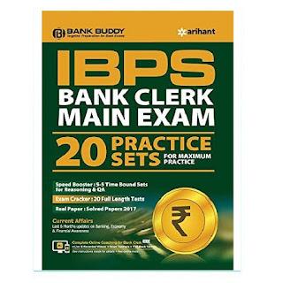 Arihant Bank Buddy IBPS Bank Clerk Main Practice Sets (20 Sets) [English Edition]