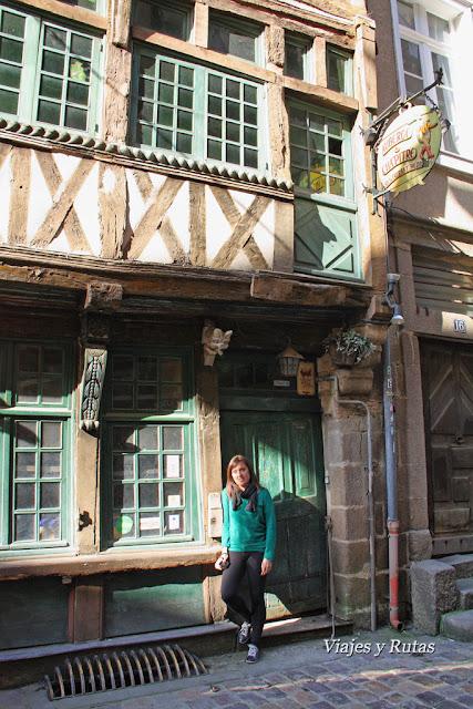 Casas de entramado de madera de Rennes