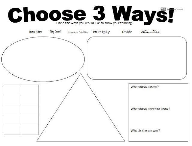 Choose 3 Waysproblem Solving