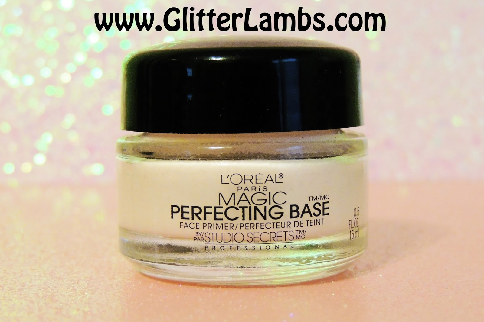 L'Oreal Studio Secrets Professional  Magic Perfecting Base Face Primer Review  By Glitter Lambs