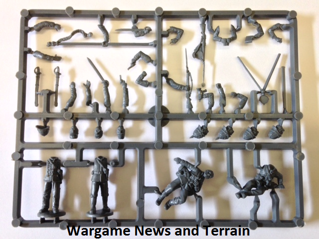 Perry Miniatures: Plastic British Zulu War Infantry Command Sprue