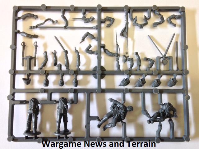 Perry Miniatures: Plastic British Zulu War Infantry Command Sprue