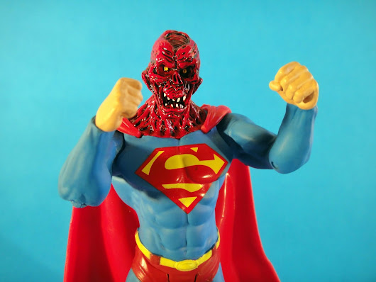 RECYLED MATERIAL: ZOMBIE SUPERMAN KNOCK-OFF by UNKNOWN MANUFACTURER.