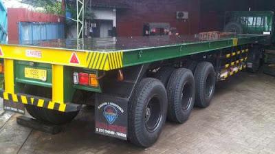 truk trailer 40 feet