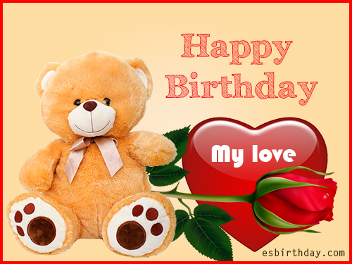 Happy birthday cards of love romantic images happy birthday he believes that the desired result can be precisely achieved here we have romantic roses flowers for love do not dehes to share with the person you love bookmarktalkfo Gallery