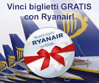 Vinci biglietti GRATIS con Ryanair!
