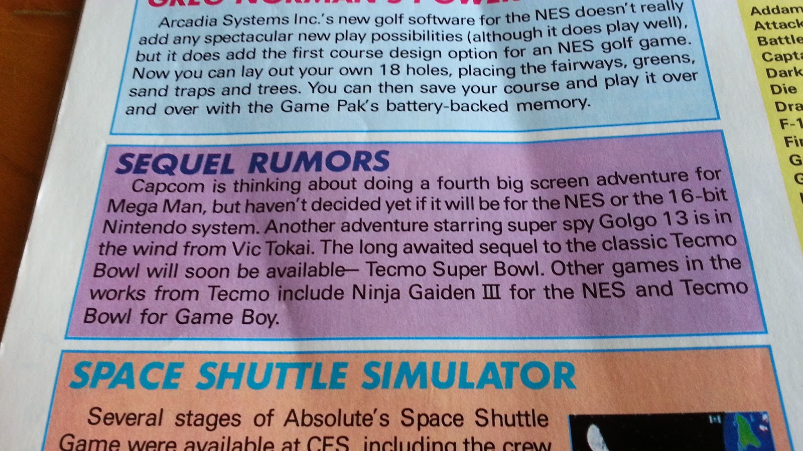 Corona Jumper: Nintendo Power, Volume 23 (April 1991)