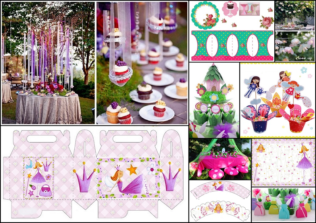 Quinceanera Fairy Party DIYs, Free Printables, Party