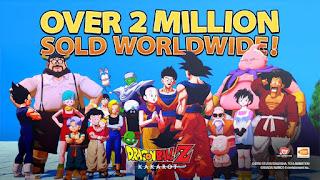 Dragon Ball Z: Kakarot  já vendeu mais de 2 milhões de unidades