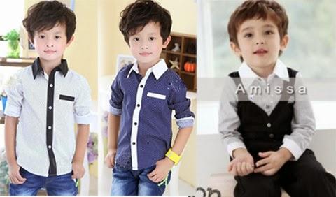 desain baju anak laki laki