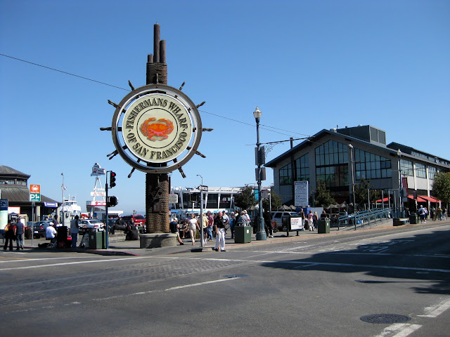 San Francisco - Barrio de Pescadores - Fishermans Wharf