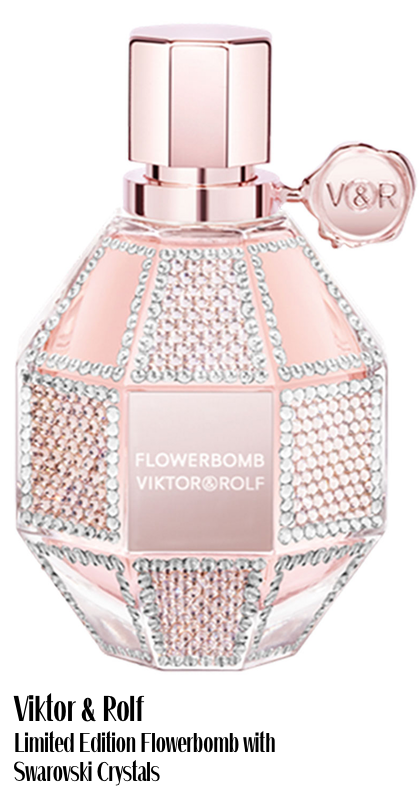 Viktor & Rolf Limited Edition Flowerbomb with Swarovski Crystals