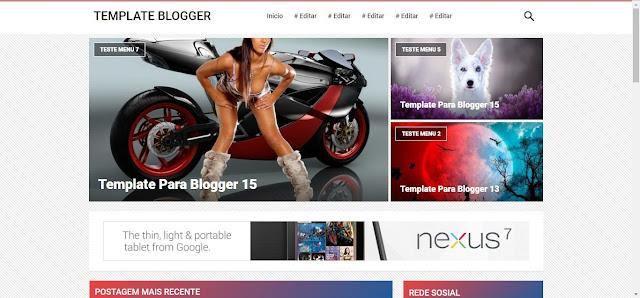 Temas para Blogspot Blogger