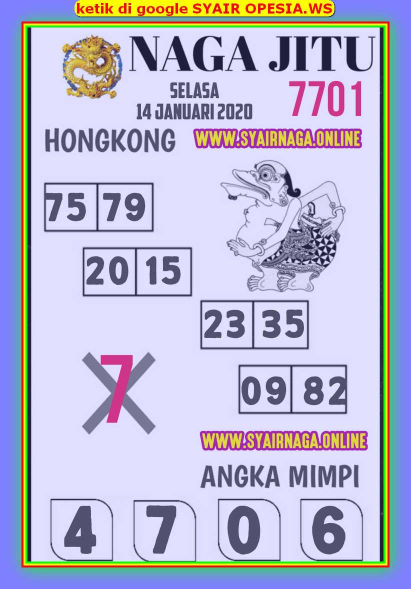 Kode syair Hongkong Selasa 14 Januari 2020 133