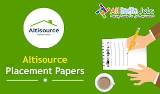 Altisource Placement Papers