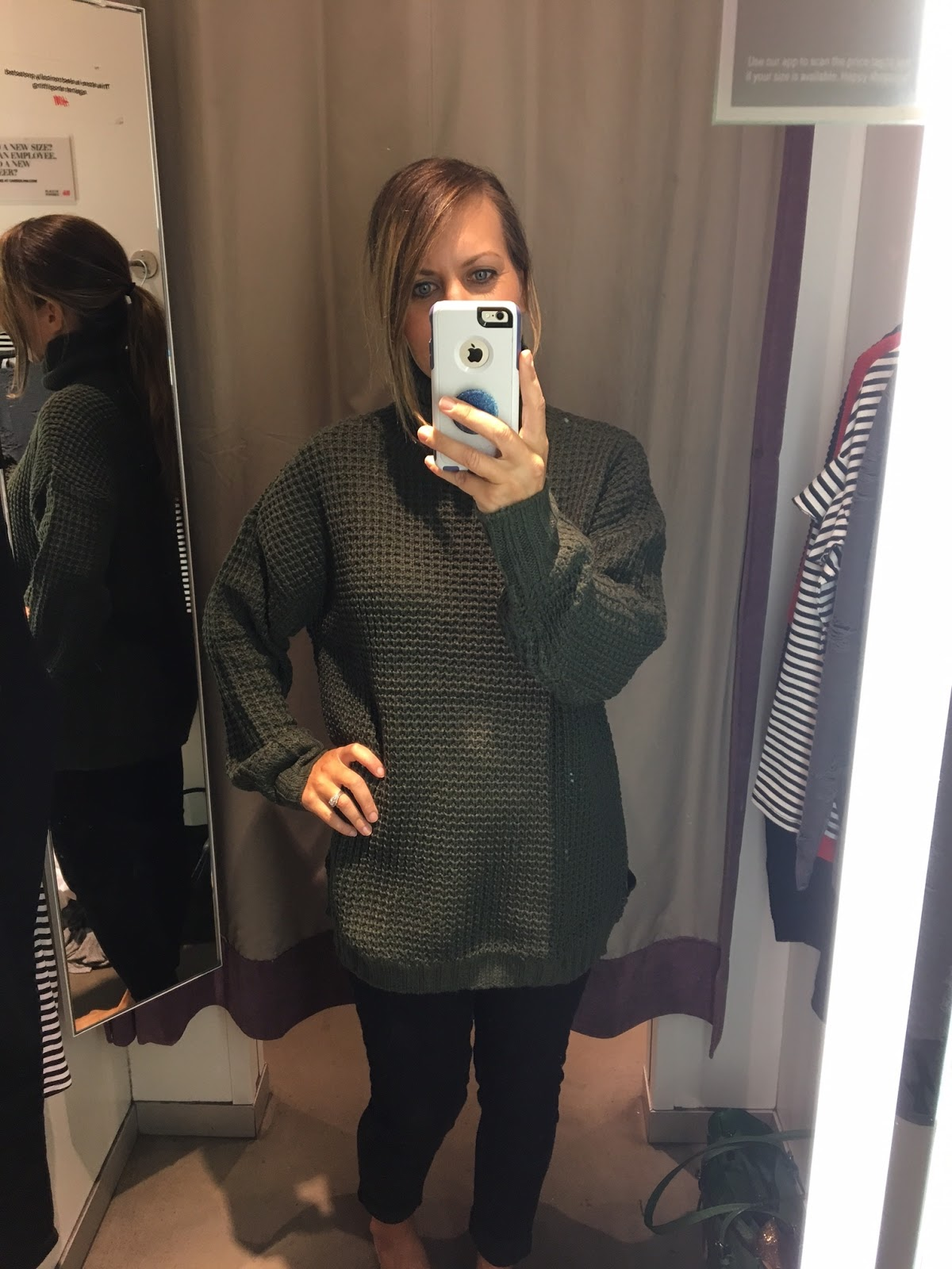 midwestern mama 2017 #2: h 2526m 2boversized 2bhunter 2bgreen 2bsweater