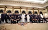 Pictures: Arsenal Stars at the Zabeel Palace in Dubai