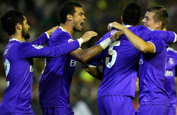 Real Madrid Obliterated Real Betis 6-1 In LaLiga