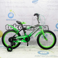 16 warrior bmx sepeda anak