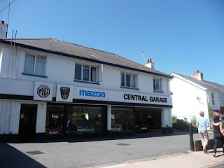 Central Garage of Brixham switch from Mazda to MG