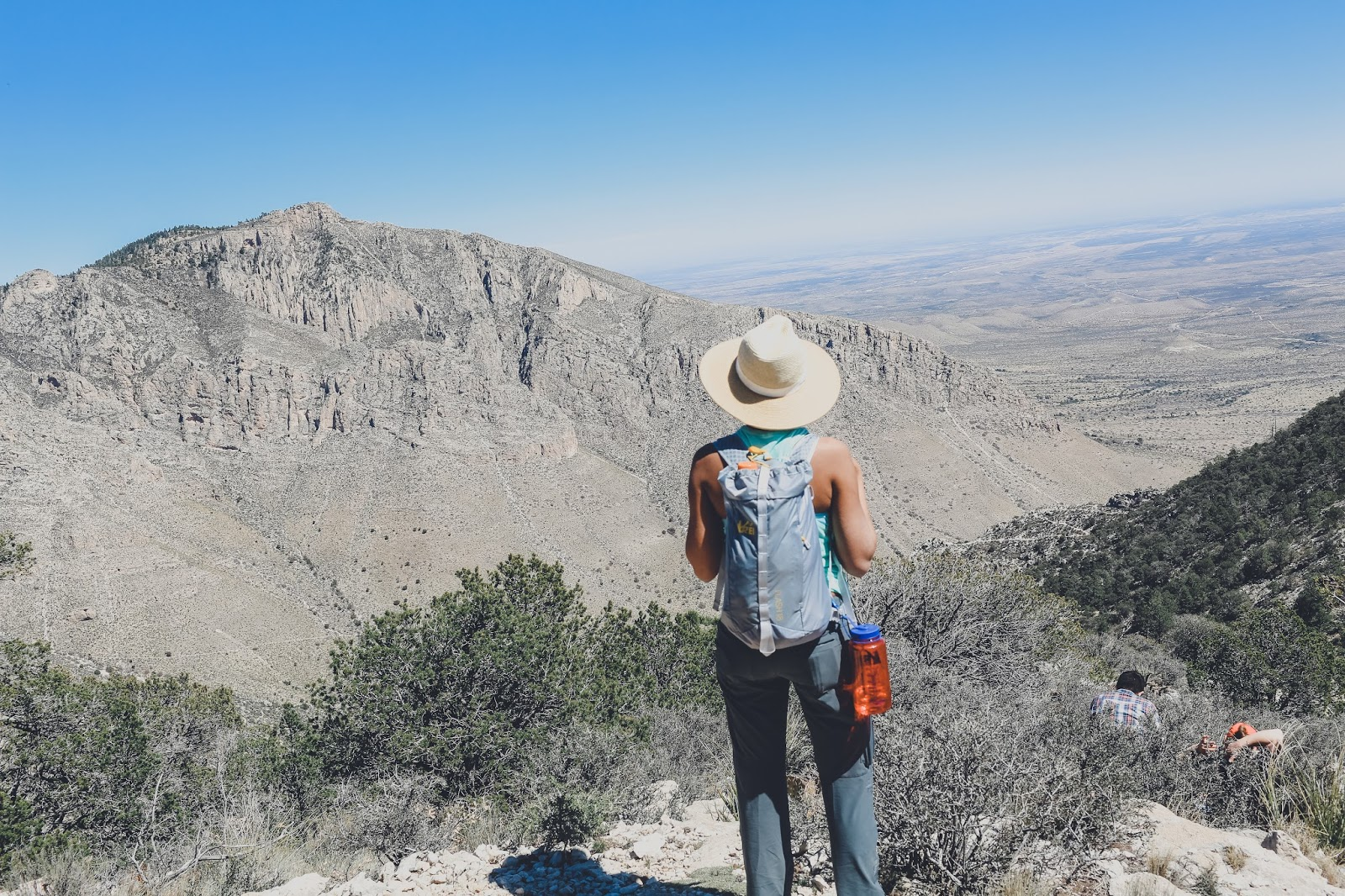 Hiking Guadalupe Peak National Park