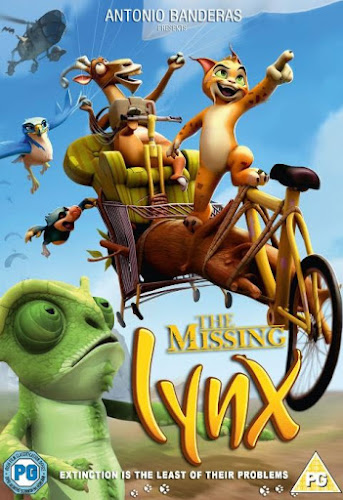 Poster of The Missing Lynx (2008) BRRip Hindi Dubbed HEVC Mobile Movie Free Download