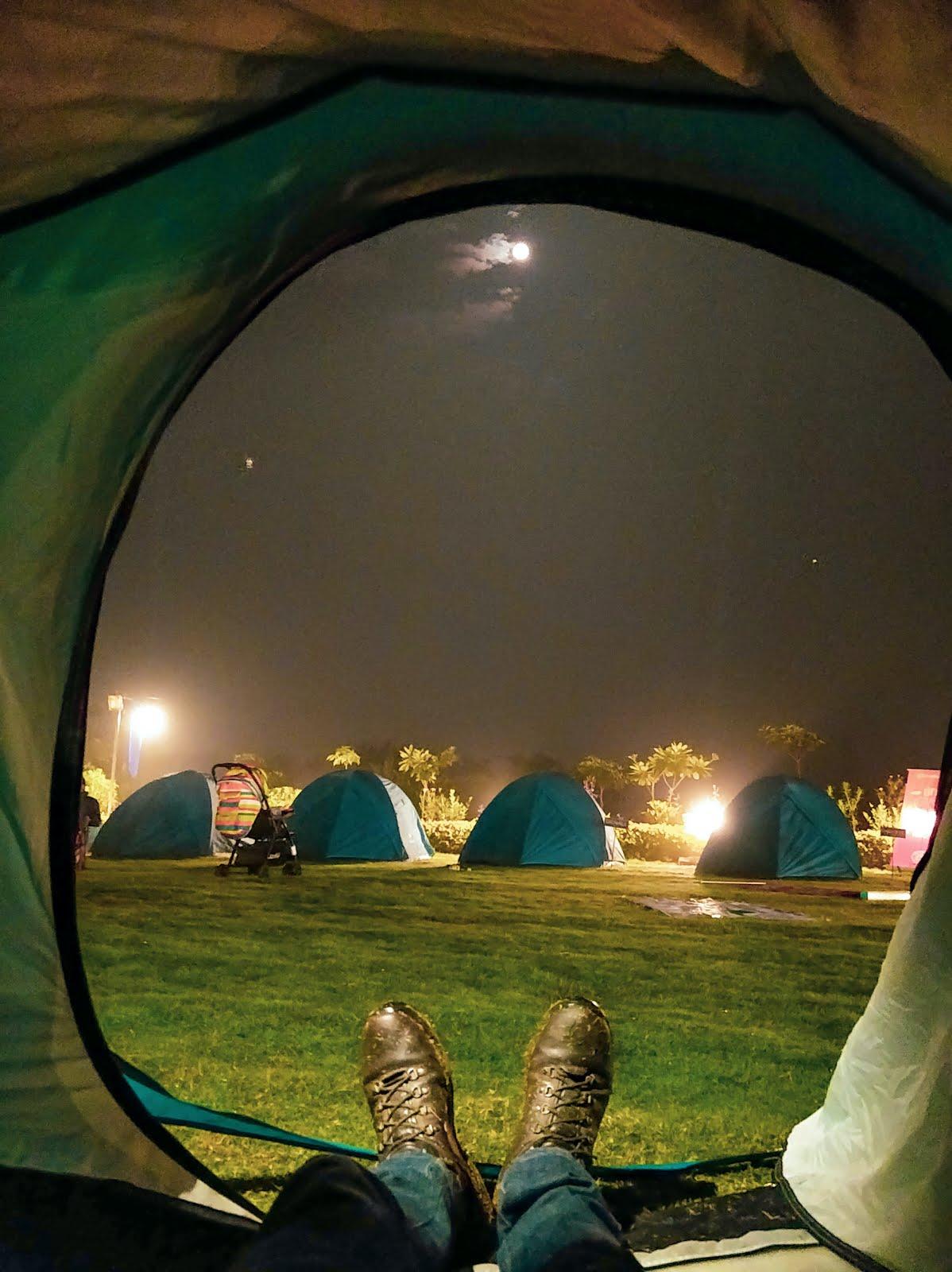 Camping in Kalakund Forest, Madhya Pradesh