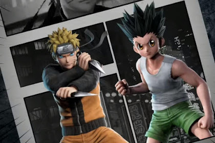 Gameplay  JUMP FORCE  Naruto VS Gon  Freecss